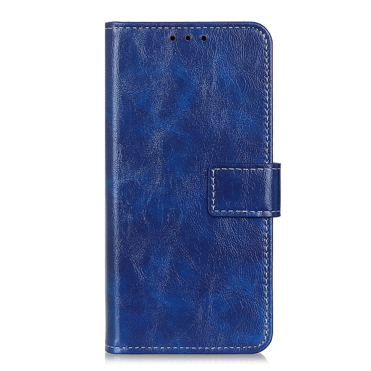 FORCELL RETRO Peňaženkový obal LG K52 / LG K62 modrý