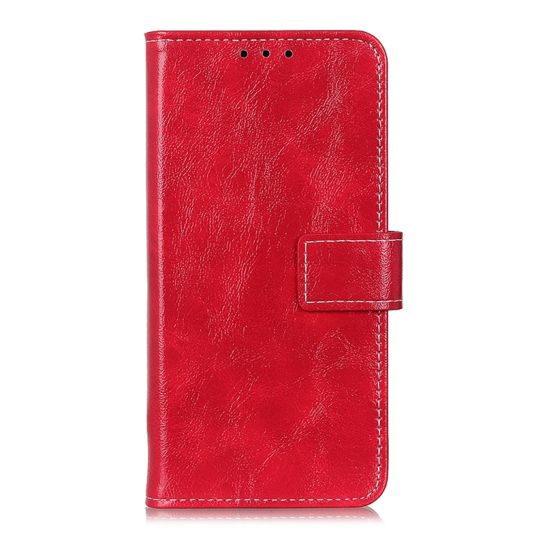 FORCELL RETRO Peňaženkový obal LG K52 / LG K62 červený