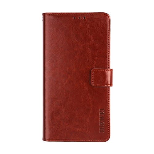 FORCELL Peňaženkový kryt Xiaomi Redmi Note 10 Pro hnedý