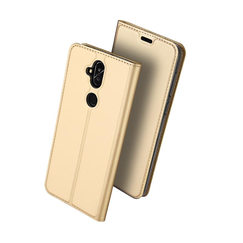 DUX Knižkové puzdro Asus Zenfone 5 Lite (ZC600KL) zlaté