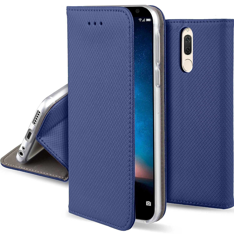 FORCELL MAGNET Peňaženkový obal Huawei Mate 10 Lite modrý