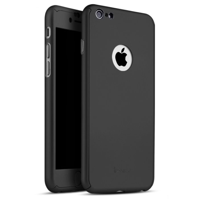 IPAKY 360° Obal Apple iPhone 6 Plus / 6S Plus čierny