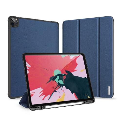 "DUX DOMO Zaklápací kryt Apple iPad Pro 12.9"" 2020 / iPad Pro 12.9"" 2018 modrý"