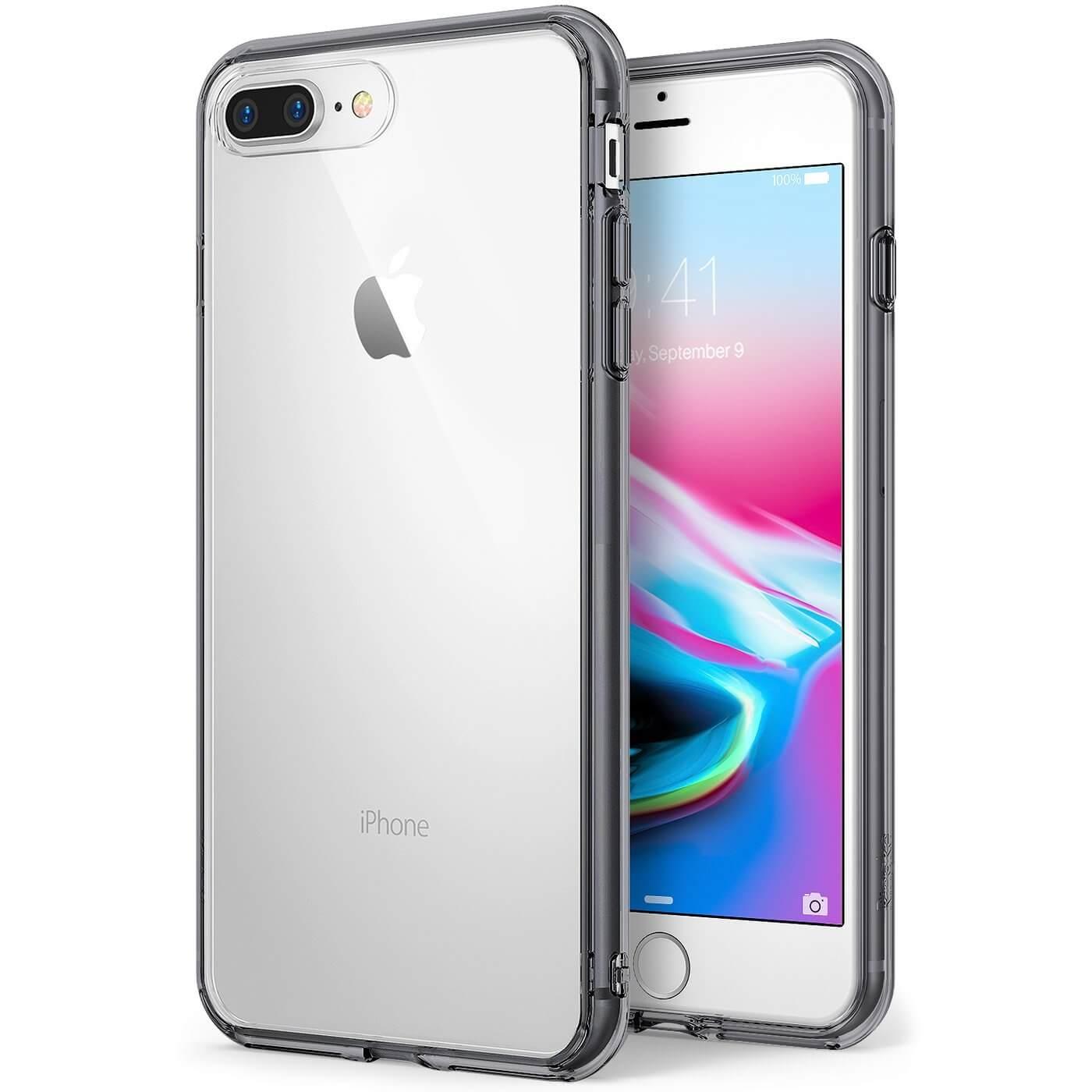 RINGKE FUSION obal Apple iPhone 7 Plus / iPhone 8 Plus šedý
