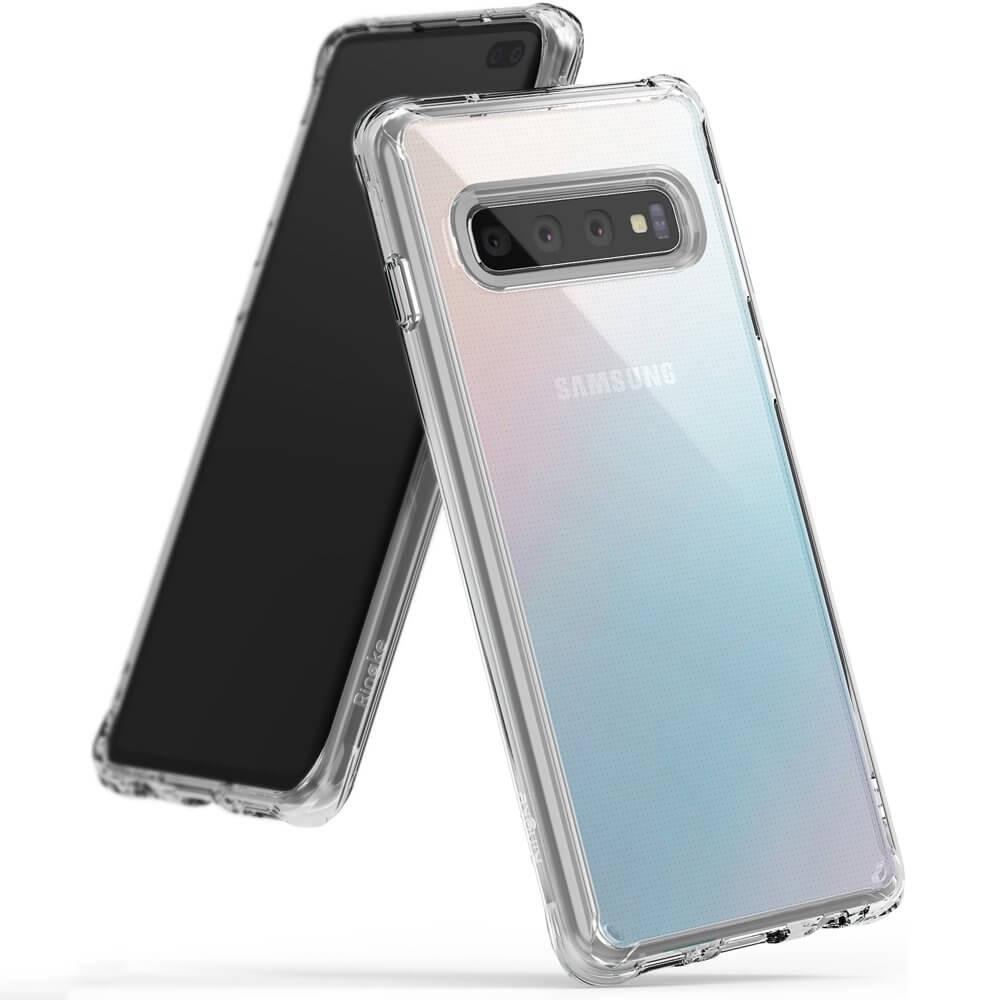 RINGKE FUSION obal Samsung Galaxy S10 Plus priehľadný