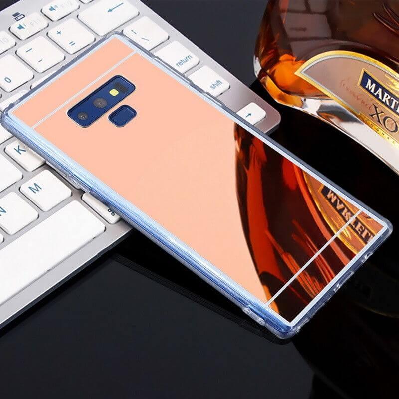 FORCELL Zrkadlový silikónový obal Samsung Galaxy Note 9 ružový