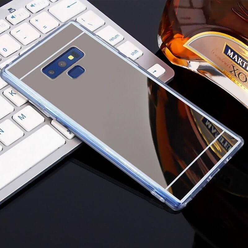 FORCELL Zrkadlový silikónový obal Samsung Galaxy Note 9 čierny