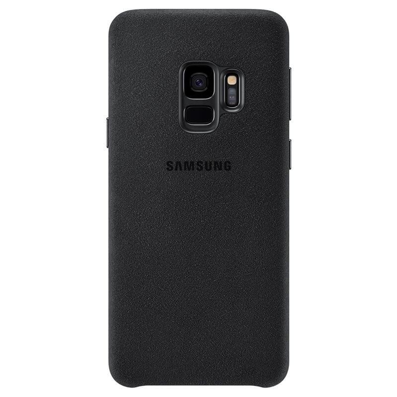 SAMSUNG ALCANTARA COVER Samsung Galaxy S9 čierny