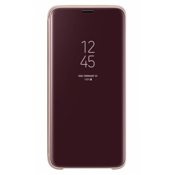 SAMSUNG CLEAR VIEW (EF-ZG960CF) Samsung Galaxy S9 zlatý