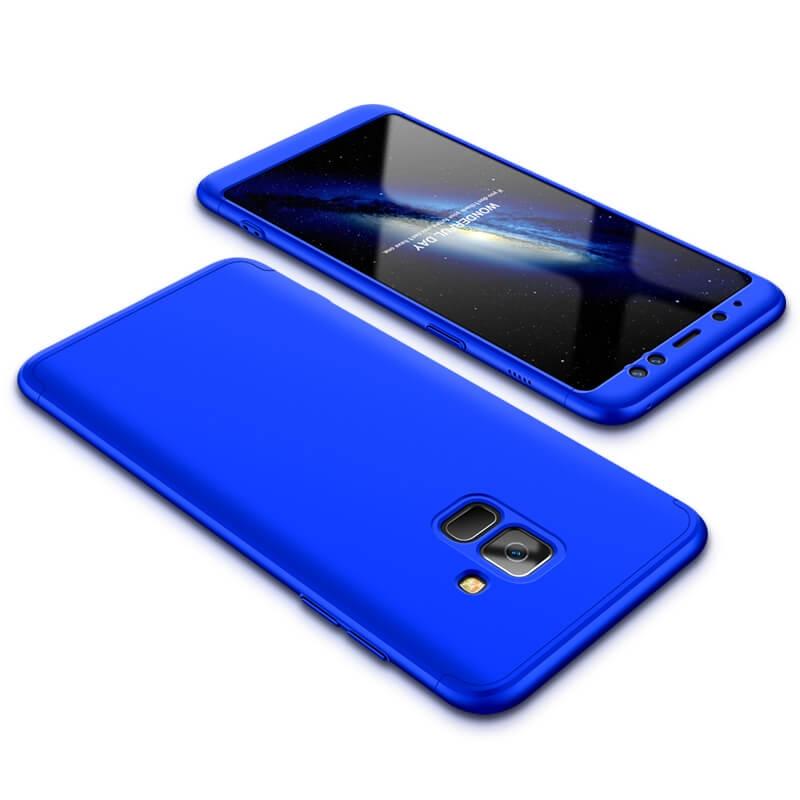 FORCELL 360° Ochranný obal Samsung Galaxy A8 2018 (A530) modrý