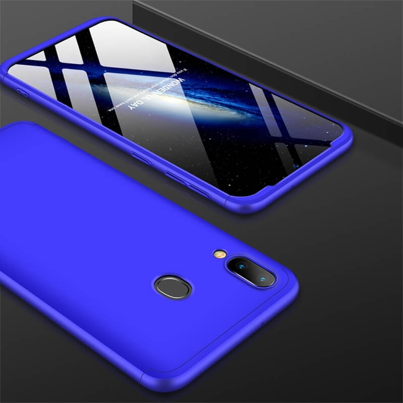 FORCELL 360° Ochranný obal Samsung Galaxy M20 modrý
