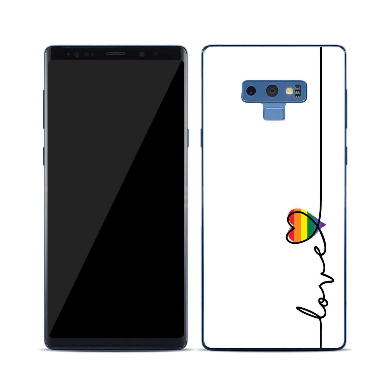 FORCELL MY ART Ochranný kryt Samsung Galaxy Note 9 LOVE (054)