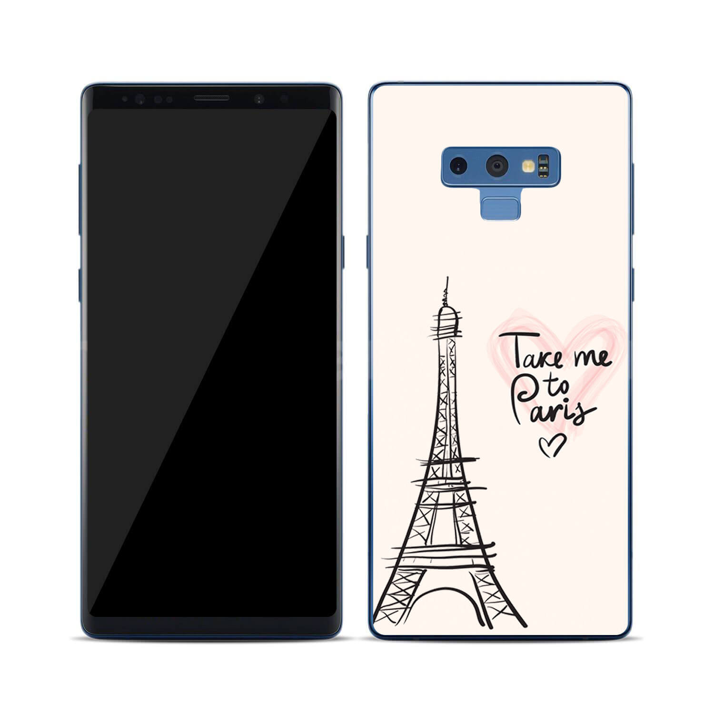 FORCELL MY ART Ochranný kryt Samsung Galaxy Note 9 PARIS (057)