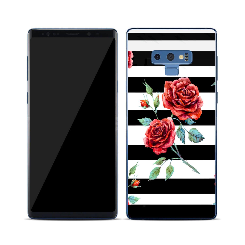 FORCELL MY ART Ochranný kryt Samsung Galaxy Note 9 BLACK AND WHITE (034)