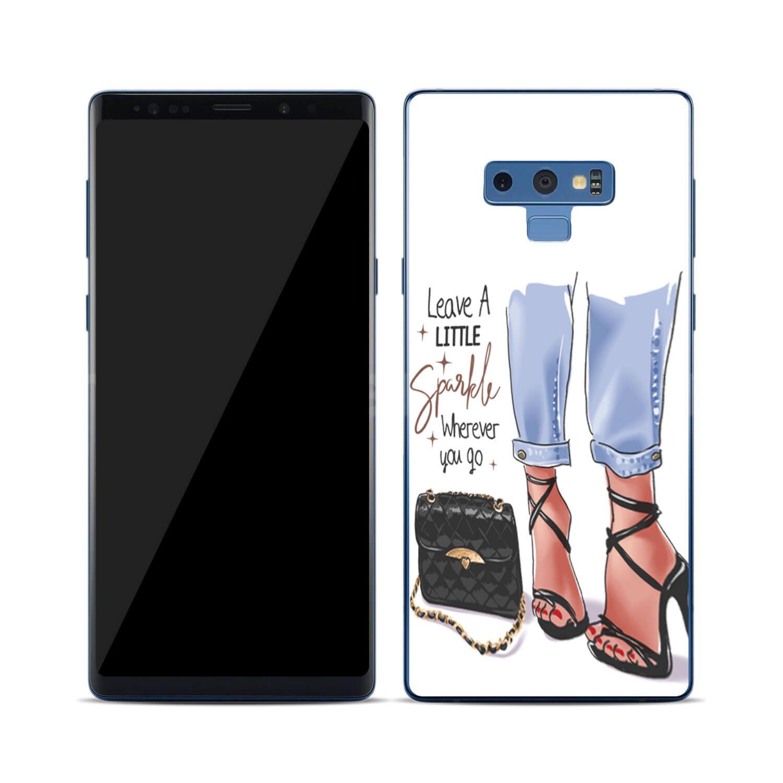 FORCELL MY ART Ochranný kryt Samsung Galaxy Note 9 SHOES (061)