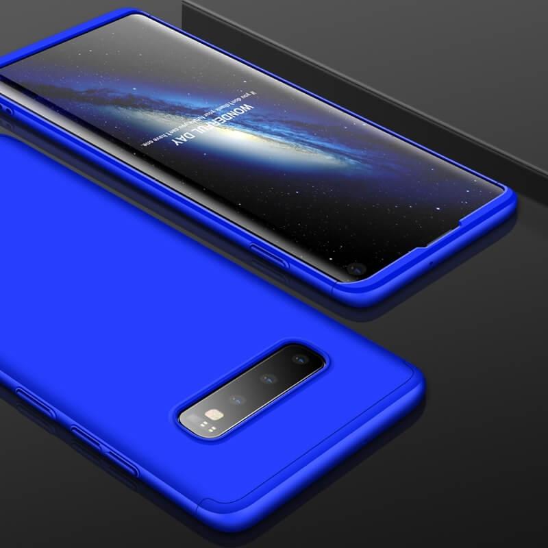 FORCELL 360° Ochranný obal Samsung Galaxy S10 modrý