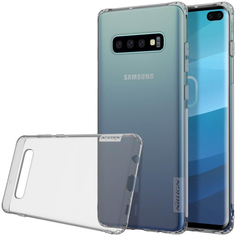 NILLKIN NATURE obal Samsung Galaxy S10 Plus šedý