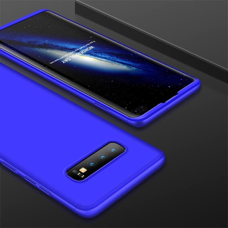 FORCELL 360° Ochranný obal Samsung Galaxy S10 Plus modrý