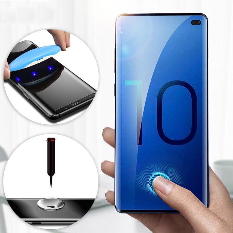 FORCELL UV Temperované sklo Samsung Galaxy S10 Plus