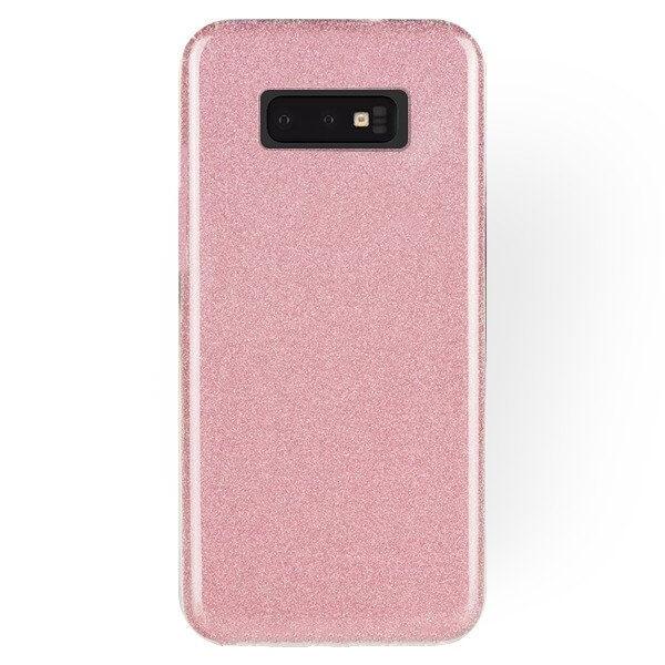 FORCELL SHINING Obal pre Samsung Galaxy S10e ružový