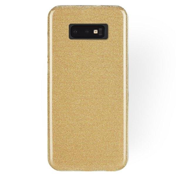 FORCELL SHINING Obal pre Samsung Galaxy S10e zlatý