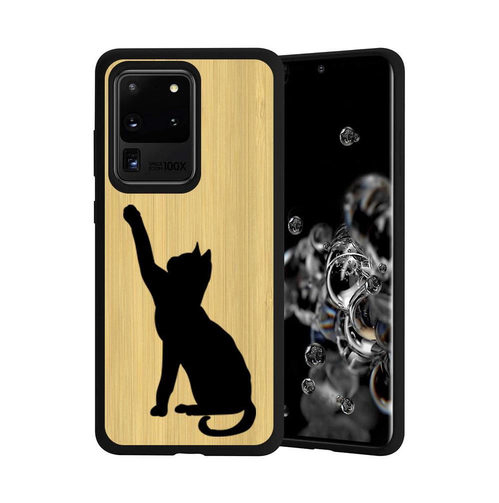 FORCELL BAMBOO Drevený kryt Samsung Galaxy S20 Ultra CAT (085)