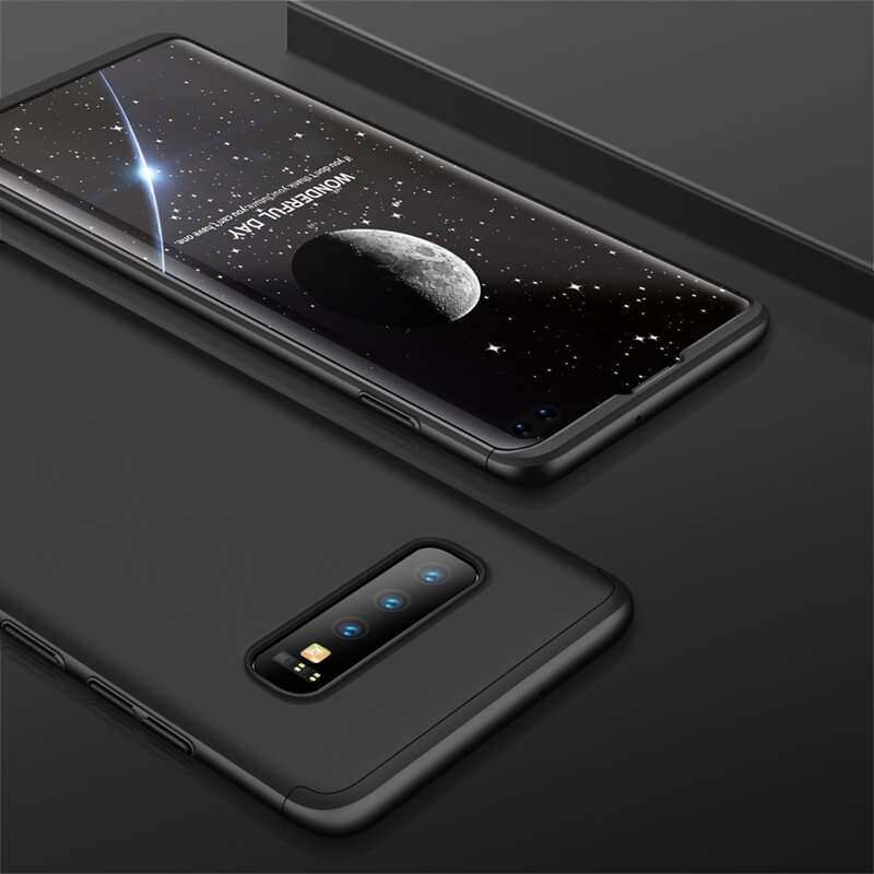 FORCELL 360° Ochranný obal Samsung Galaxy S10 Plus čierny