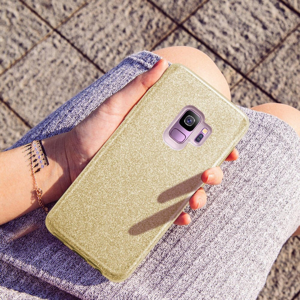 FORCELL SHINING Ochranný kryt Samsung Galaxy S9 Plus zlatý