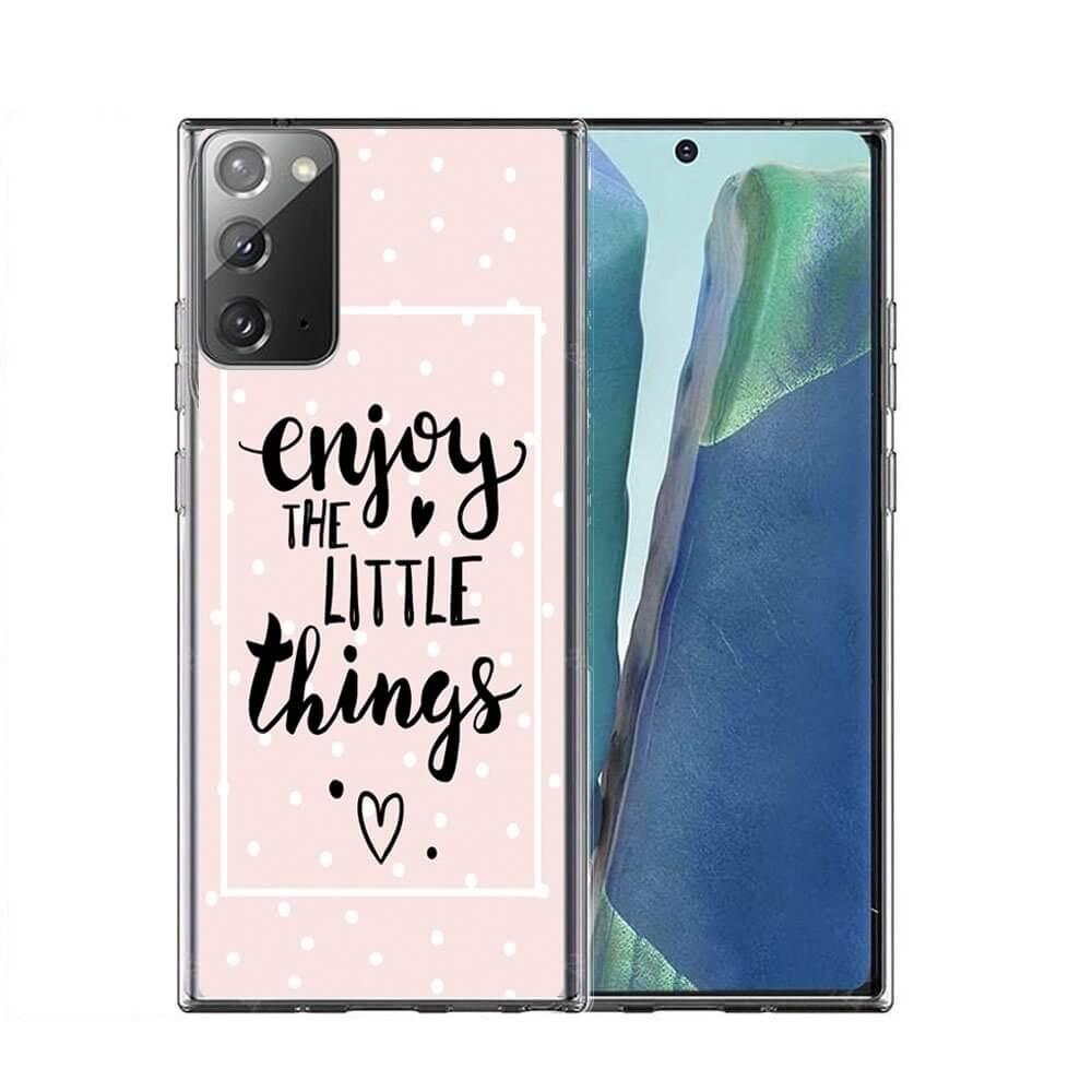 FORCELL MY ART Ochranný kryt Samsung Galaxy Note 20 LITTLE THINGS (039)
