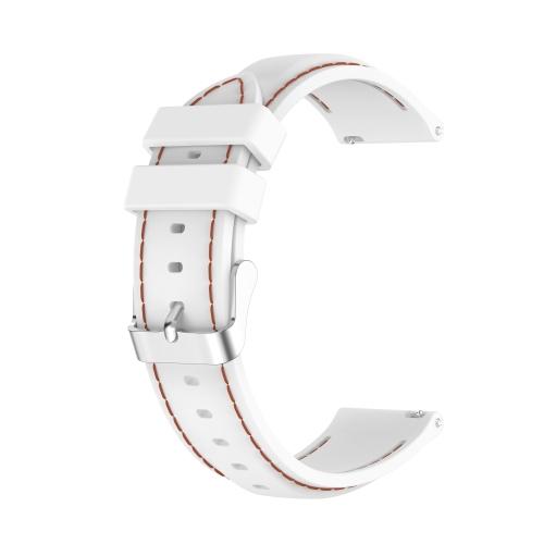 FORCELL Silikónový Remienok Samsung Galaxy Gear S3 biely