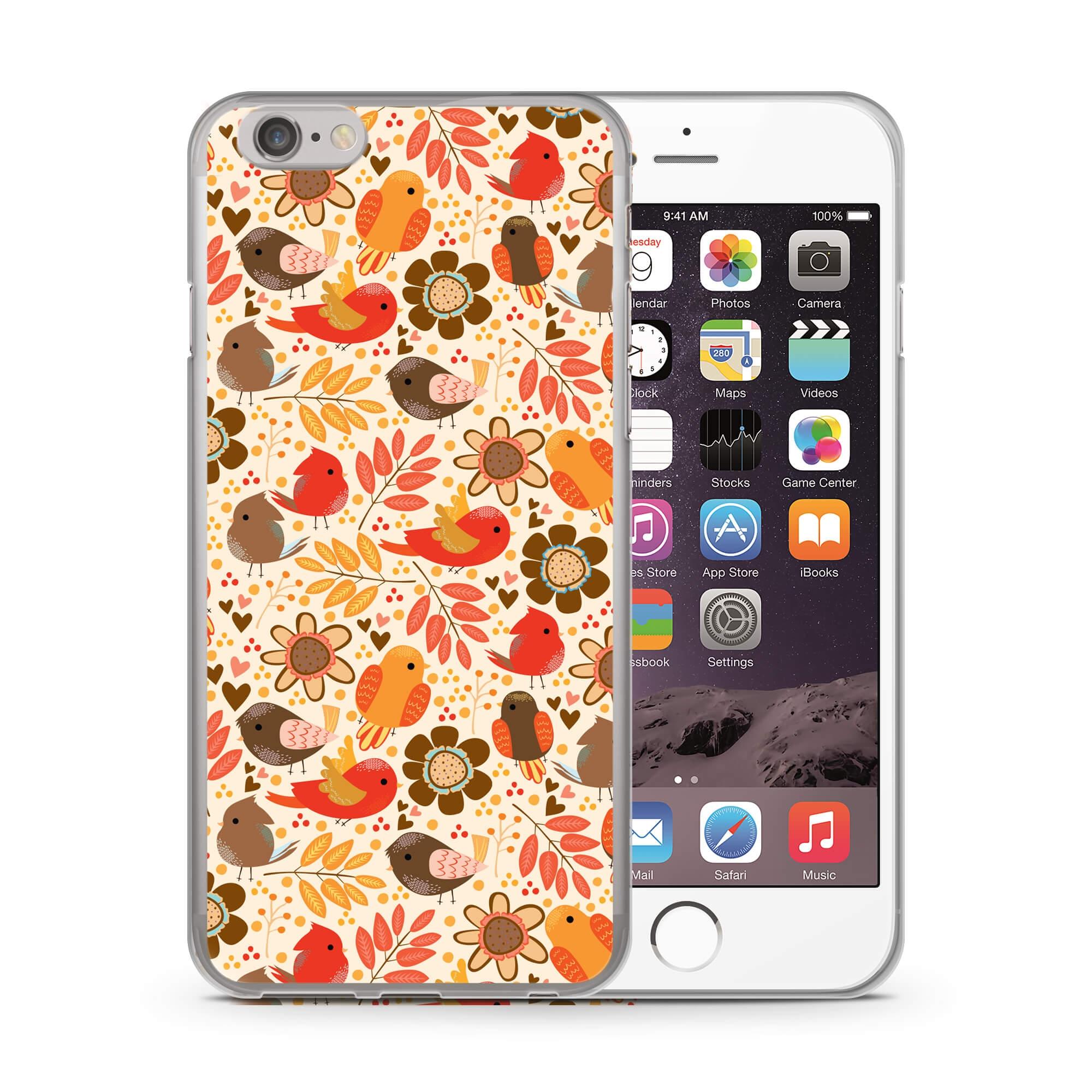 FORCELL MY ART kryt Apple iPhone 6 Plus / 6S Plus BIRDS (004) (004)