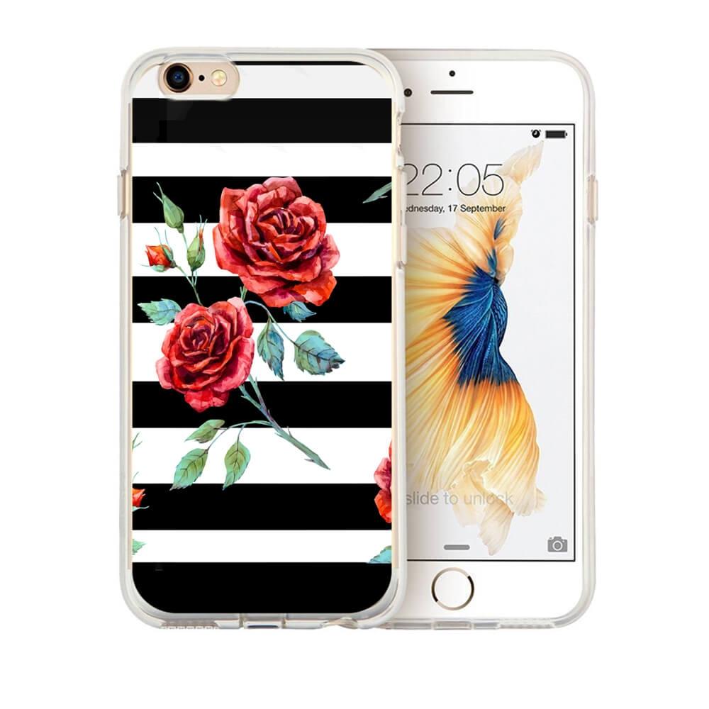 MY ART kryt Apple iPhone 6 Plus   6S Plus BLACK WHITE (034) ccae2b46df6