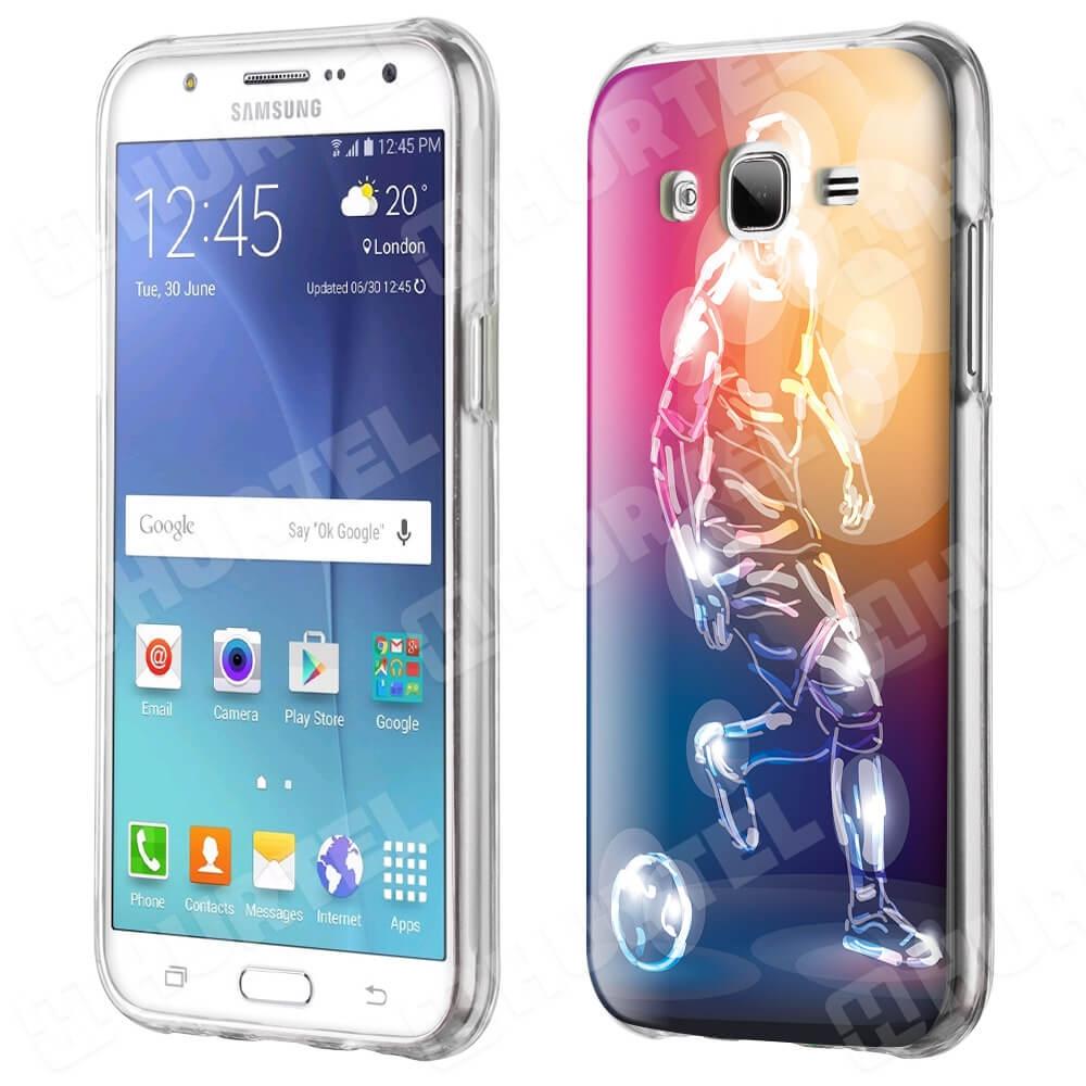 FORCELL Silikónový obal Samsung Galaxy J5 2015 (J500) FOOTBALL