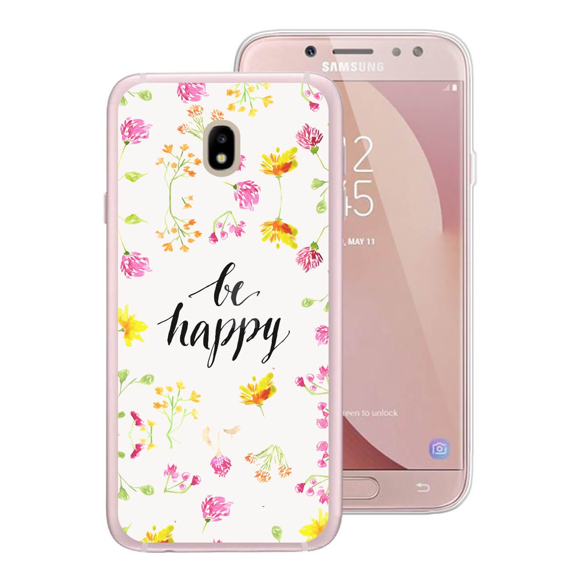 FORCELL MY ART kryt Samsung Galaxy J5 2017 (J530) BE HAPPY (019)