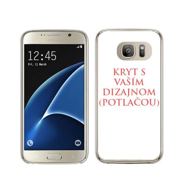 Kryt s vlastnou fotkou Samsung Galaxy S7 Edge