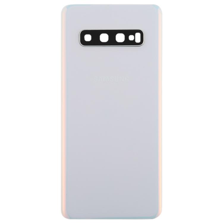 FORCELL Zadný kryt (kryt batérie) Samsung Galaxy S10 biely