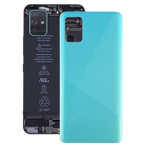 FORCELL Zadný kryt (kryt batérie) Samsung Galaxy A51 modrý