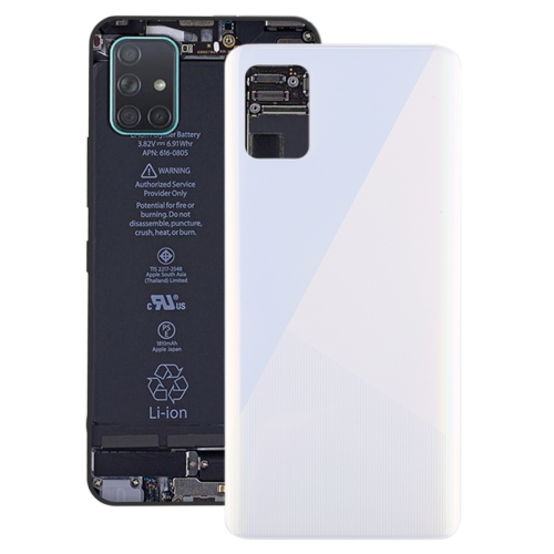 FORCELL Zadný kryt (kryt batérie) Samsung Galaxy A51 biely