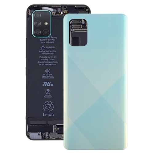 FORCELL Zadný kryt (kryt batérie) Samsung Galaxy A71 modrý