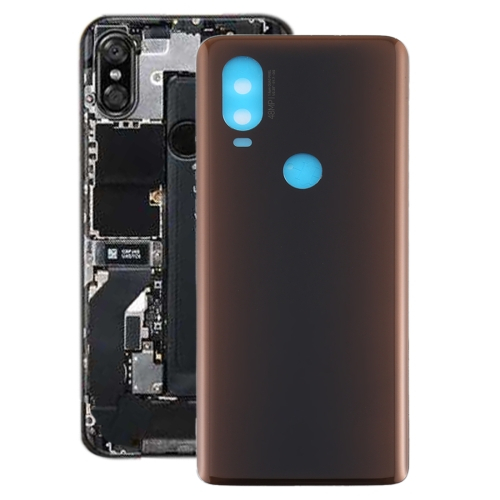 FORCELL Zadný kryt (kryt batérie) Motorola One Vision hnedý