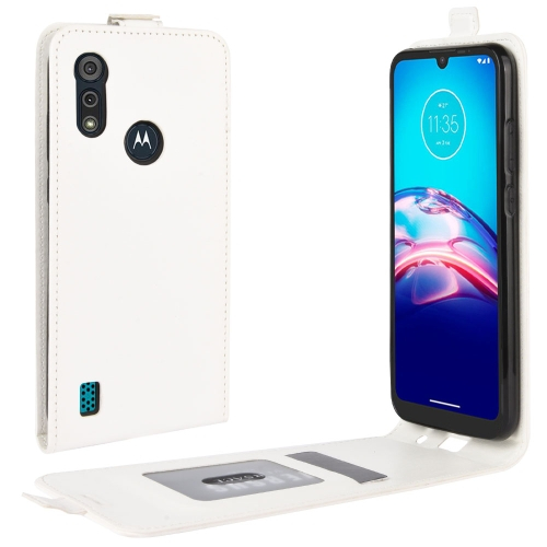 FORCELL Vyklápacie puzdro Motorola Moto E6s biele