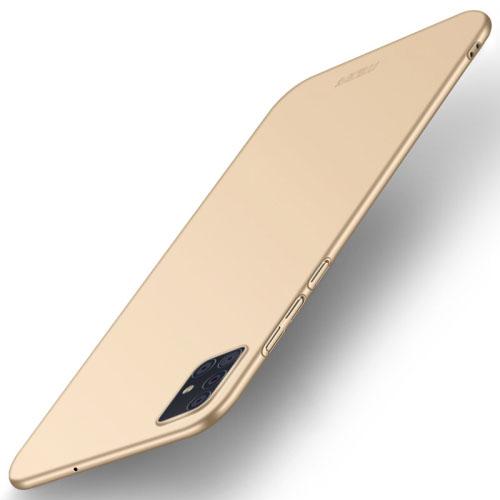 MOFI Ultratenký obal Samsung Galaxy A71 zlatý
