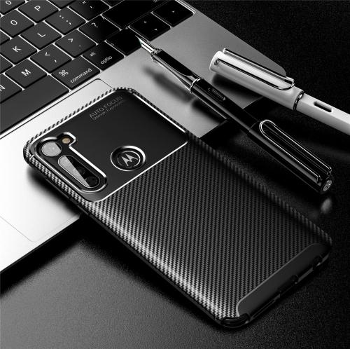 FORCELL BEETLE TPU obal Motorola One Fusion+ čierny