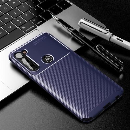FORCELL BEETLE TPU obal Motorola One Fusion+ modrý