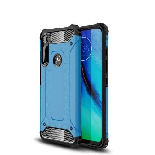 FORCELL TOUGH Ochranný kryt Motorola One Fusion+ modrý