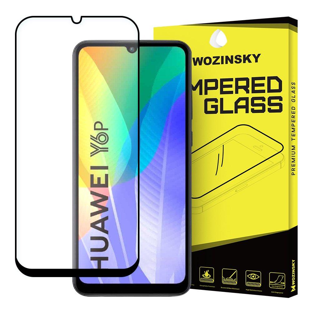 FORCELL 3D Tvrdené sklo Huawei Y6p / Honor 9A čierne