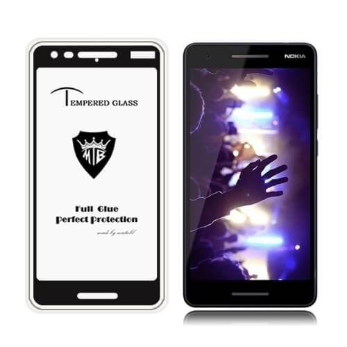 FORCELL 3D Tvrdené sklo Nokia 2.1 čierne