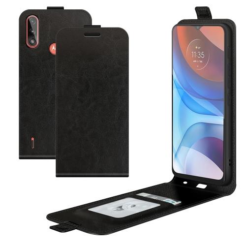 FORCELL Vyklápacie puzdro Motorola Moto E7 Power / E7i Power čierne