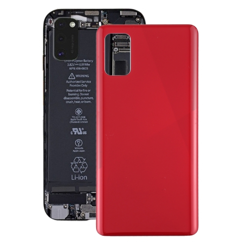 FORCELL Zadný kryt (kryt batérie) Samsung Galaxy A41 červený