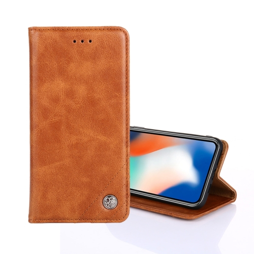 FORCELL Peňaženkový obal OnePlus Nord N10 5G hnedý